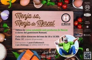 Menja Sa, Menja de MErcat - Taller Cuina