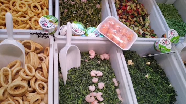 mercat-11-setembre-productes-congelados-victor-verduras-hortalizas