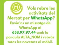 El Mercat ya tiene WhatsApp