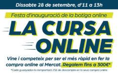 Cursa online en la inauguración de la botiga online