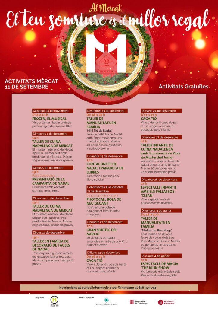 Activitats de Nadal al Mercat