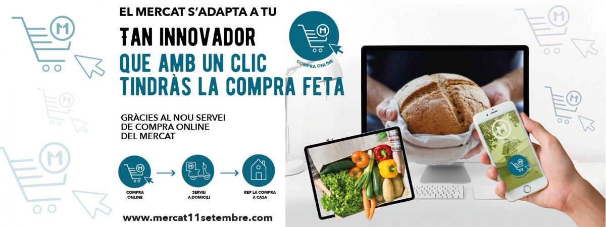 Compra Online al Mercat 11 de Setembre