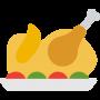 Pollo, aves, caza y huevos